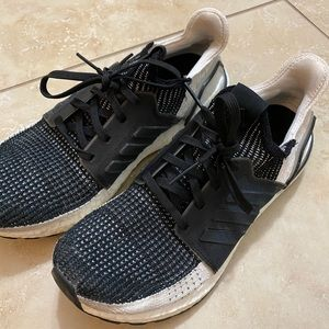 Adidas Ultraboost black and white sneakers